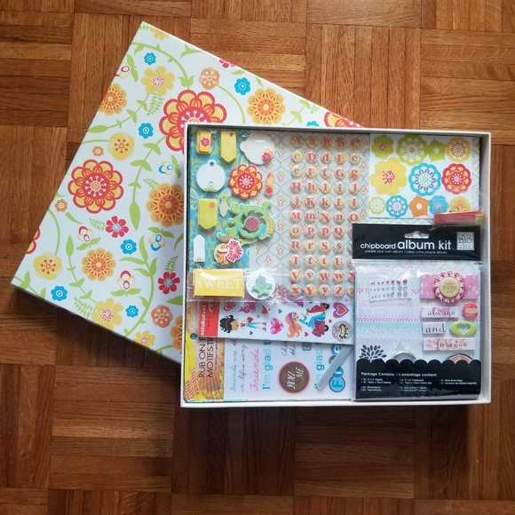 dcwv Other - Scrapbook kit w/ clipboard album kit